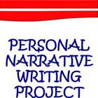 Personal Narrative Writing Pack Elementary &amp; Middle Grades