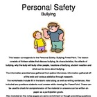 Personal Safety: Bullying Notes Pages