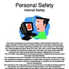 Personal Safety: Internet Safety Notes Pages