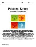 Personal Safety: Weather Emergencies and Natural Disasters