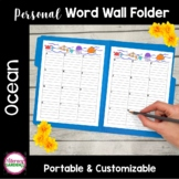 Personal WORD WALL - OCEAN FUN