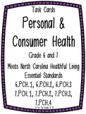 Personal and Consumer Health Task Cards Bundle