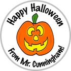 Personalized Halloween Stickers Teacher Gift With Name