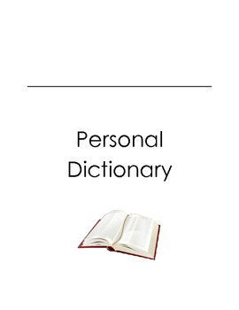 Personalized Spelling Dictionary