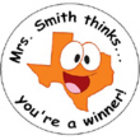 Personalized Texas Stickers With Your Name + Message