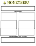 Persuasive Essay Graphic Organizer for HoneyBees