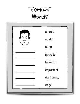 Persuasive Letter Writing (Organizers & Word Lists)
