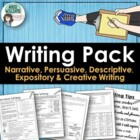 Persuasive, Narrative, Expository &amp; Descriptive Writing Or