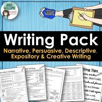 Persuasive, Narrative, Expository & Descriptive Writing Or