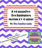 Persuasive Techniques Memory Game