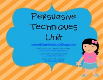 Persuasive Techniques Unit: Bulletin Board, PowerPoint, an