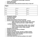Persuasive Writing Checklist Document