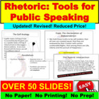 Persuasive Writing : Classicism Tools of Rhetoric PowerPoint