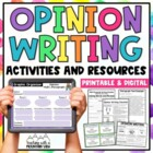 Persuasive Writing Graphic Organizer , Writing Sample , an