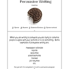 Persuasive Writing Lesson Plan
