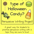 Persuasive Writing Pack: What is the Best Type of Hallowee