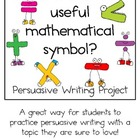 Persuasive Writing Pack: What is the Most Useful Mathemati