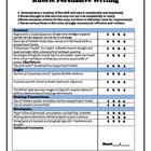Persuasive Writing Rubric/ Guide