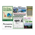 Persuasive Writing with Brochures (Promethean Board Flip Chart)