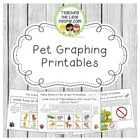 Pet Graphing Printables for Preschool, Kindergarten, and E