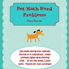 Pet Math Word Problems