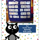 Pet Pocket Chart Matching
