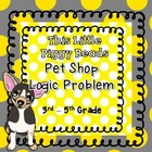Pet Shop Logic Problem - 3rd - 5th Grade