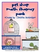 Pet Shop Math 2nd Grade Common Core Center Set