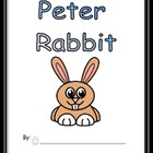 Peter Rabbit Emergent Reader with Response Writing Sheet-k