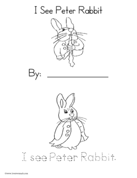 Peter Rabbit:  Literacy and Math Center Fun