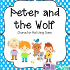 Peter and the Wolf Character Memory Game