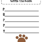 Pets Writing Center Activity