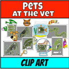 Pets at the Vet (Clip Art)