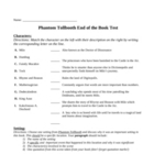 Phantom Tollbooth End of the Book Test