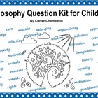 Philosophy Questions Kit Printable - 78 Question Cards wit