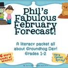 Phil's Fabulous Forecast Groundhog Day Informational Readi