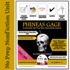 Phineas Gage Book Study Guide
