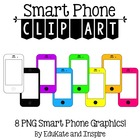 Phone Clip Art {neon!}