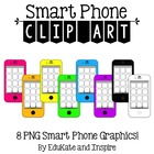 Phone Clip Art {with spots for apps}