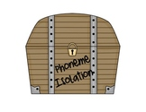 Phoneme Isolation Pirate Theme