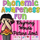 Phonemic Awareness Fun {Rhyming Words}