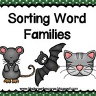 Phonemic Awareness: Kindergarten: Segmenting: Word Families