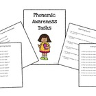 Phonemic Awareness Task Pack