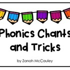 Phonics Chants and Tricks Poster