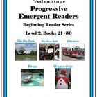 Progressive Emergent Readers Beg. Reader Series Level 2 Bk