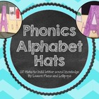 Phonics Alphabet Hats