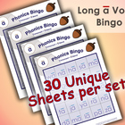 Phonics Bingo - Long A