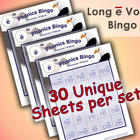 Phonics Bingo - Long E