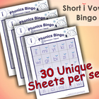 Phonics Bingo - Short I