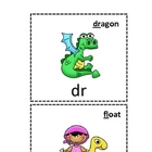 Phonics Blends, Digraphs, and Trigraphs Cards for Visual Clues